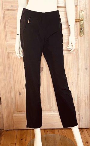 Louis Vuitton Pantalone cargo nero Seta
