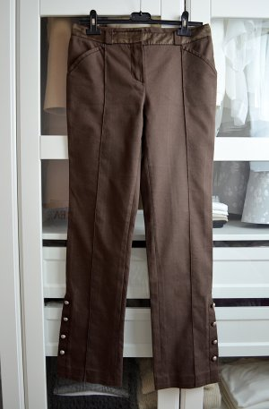 Louis Vuitton Jersey Pants brown cotton