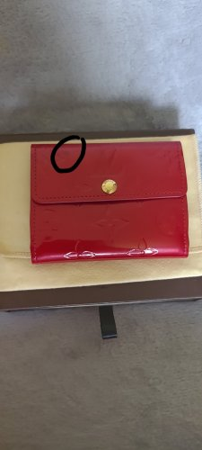 Louis Vuitton Portefeuille rouge foncé