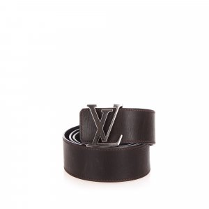Louis Vuitton Initiales Leather Belt