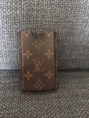 Louis Vuitton Mobile Phone Case brown-gold-colored