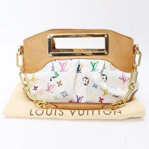 Louis Vuitton Judy PM-Monogramm- Weiße Multicolor-Schulterhandtasche