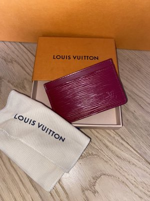 Louis Vuitton Kaartetui paars