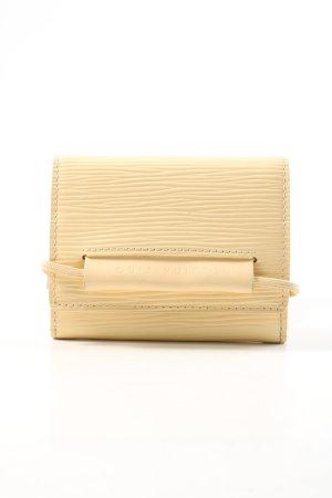 Louis Vuitton Kartenetui wollweiß Business-Look