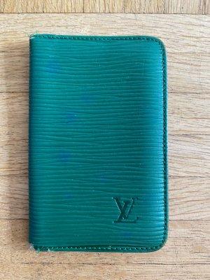 Louis Vuitton Tarjetero verde