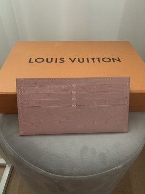 Louis Vuitton Card Case pink