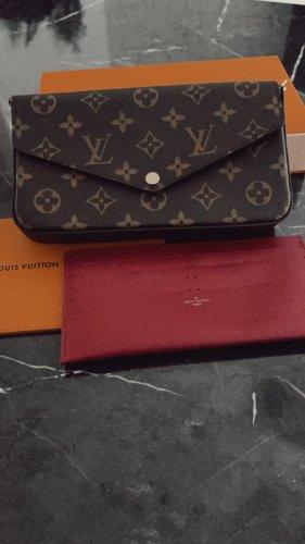 Louis Vuitton Borsa clutch bordeaux