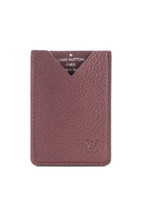 Louis Vuitton Tarjetero marrón estilo «business»