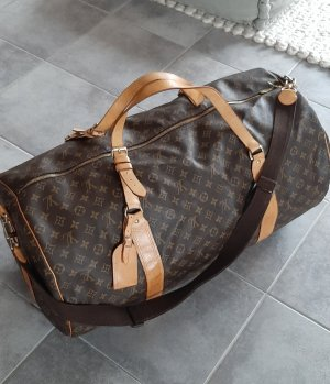 LOUIS VUITTON keep all 65 weekender Reisetasche bandouliere Monogram