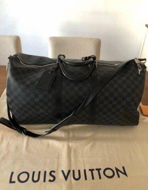Louis Vuitton Bolso de viaje negro-gris