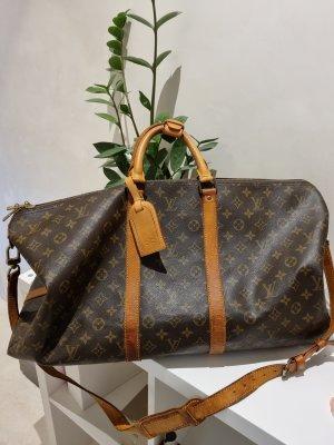 Louis Vuitton Bolso de viaje marrón arena-marrón
