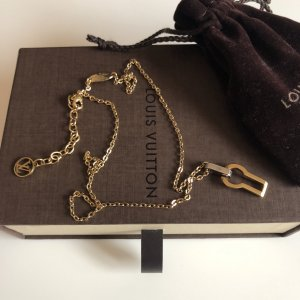 Louis Vuitton Necklace gold-colored-silver-colored