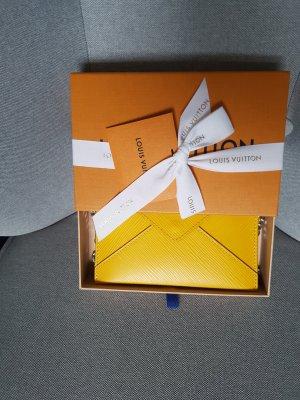 Louis Vuitton Enveloptas zwart-goud Oranje
