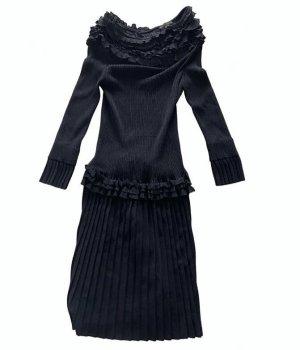 Louis Vuitton Abito a maniche lunghe nero Cotone