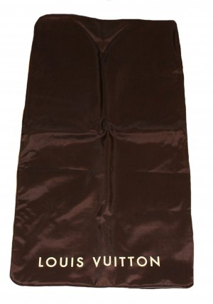 Louis Vuitton Pokrowiec na ubrania ciemnobrązowy Syntetyk