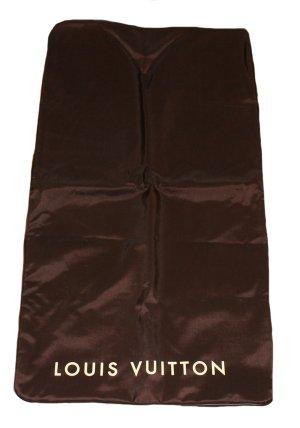 Louis Vuitton Suit Bag dark brown synthetic