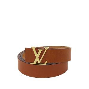 Louis Vuitton Cinturón marrón Cuero