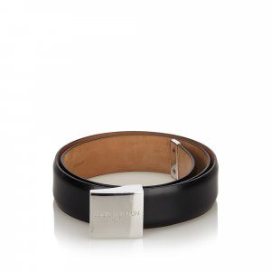 Louis Vuitton Riem zwart Leer