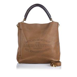 Louis Vuitton Leather Voyage Bagatelle Satchel