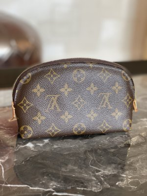 Louis Vuitton Mini Bag brown-light brown leather