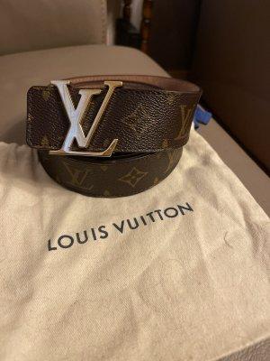Louis Vuitton Ceinture en cuir brun-marron clair