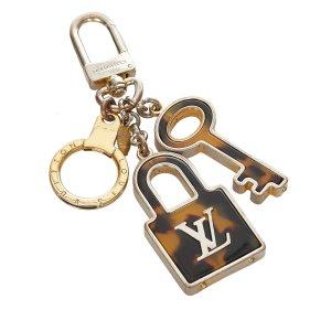 Louis Vuitton Key Chain brown metal
