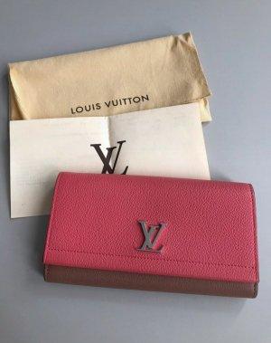 Louis Vuitton Lock Me Blossom Portmonee Leder