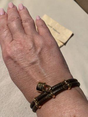 Louis Vuitton Lockit Armband aus LederOriginal