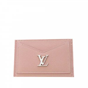 Louis Vuitton Kaartetui rosé Leer