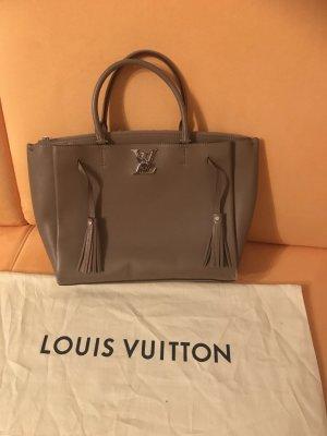 Louis Vuitton Torebka z rączkami szaro-brązowy Skóra
