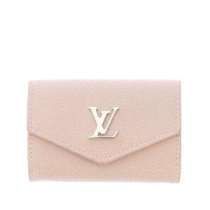 Louis Vuitton Wallet light pink leather