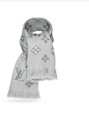 Louis Vuitton Logomania Schal Perlgrau inkl Rechnungskopie