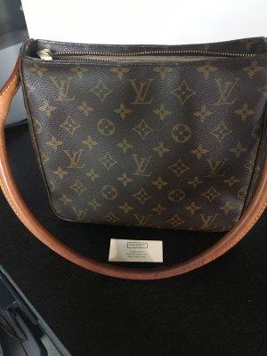 Louis Vuitton Schoudertas donkerbruin-grijs-bruin