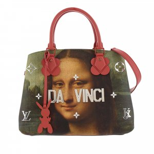 Louis Vuitton Louis Vuitton x Jeff Koons Masters Collection Montaigne MM