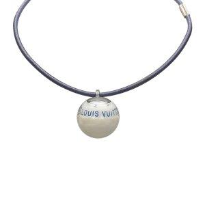 Louis Vuitton Collar blanco