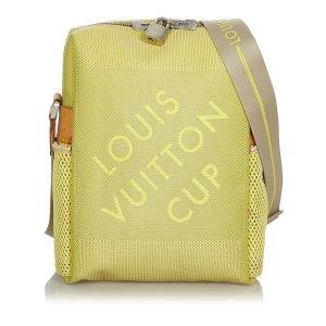 Louis Vuitton Gekruiste tas lichtgroen