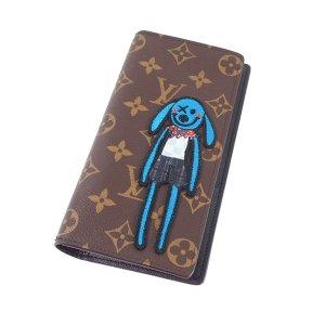 Louis Vuitton LV Friend Monogram Brazza NM Wallet