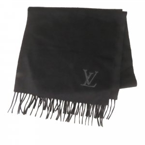 Louis Vuitton Bufanda negro