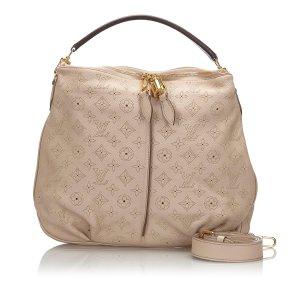 Louis Vuitton Cartella beige Pelle