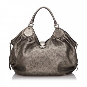 Louis Vuitton Hobos gold-colored leather