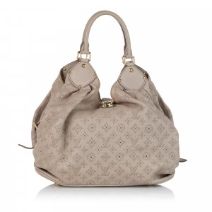 Louis Vuitton Hobos light brown leather