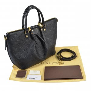 Louis Vuitton Mazarine MM Mon. Empreinte Leder Handtasche @mylovelyboutique.com