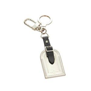 Louis Vuitton Porte-clés argenté métal