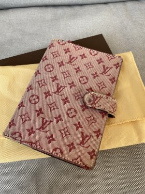 Louis Vuitton Writing Case raspberry-red