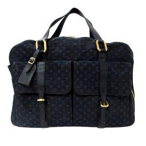 Louis Vuitton Weekendtas blauw