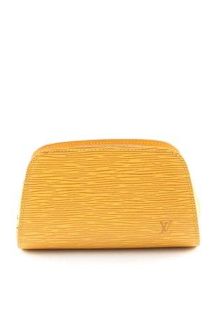 Louis Vuitton Minitasche blassgelb-hellorange Allover-Druck Elegant