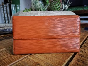Louis Vuitton Custodie portacarte marrone