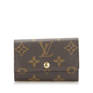 Louis Vuitton Etui voor sleutels bruin