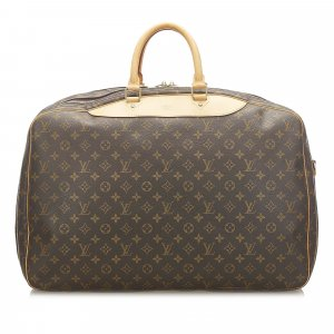 Louis Vuitton Travel Bag dark brown