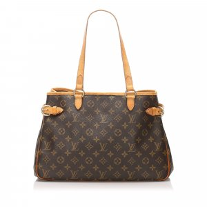 Louis Vuitton Borsa larga marrone
